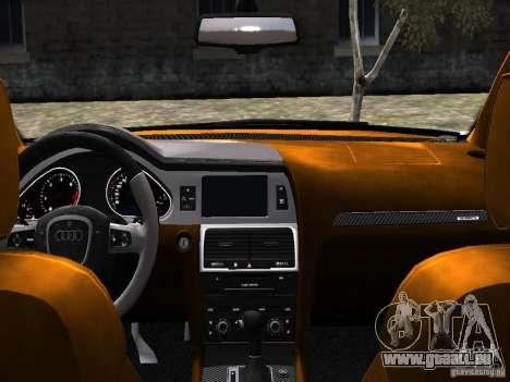 Audi Q7 V12 TDI Quattro Final pour GTA 4 est un côté