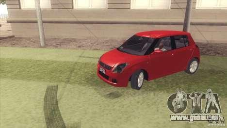 Suzuki Swift versión Chilena pour GTA San Andreas