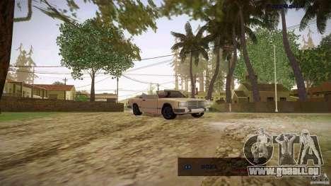 Feltzer HD pour GTA San Andreas vue de droite