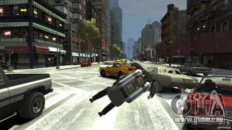 Jetpack pour GTA 4 Vue arrière