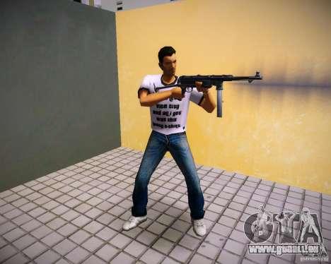 MP-40 GTA Vice City pour la troisième écran