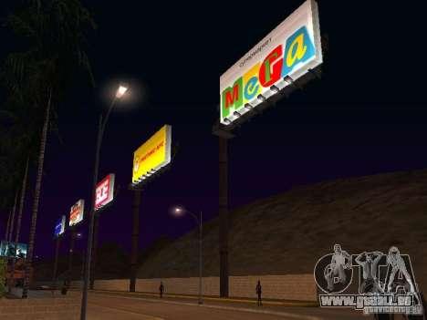 Boutique russe en Las Venturase pour GTA San Andreas deuxième écran
