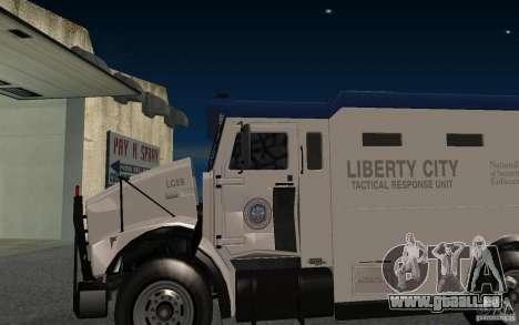 Securicar de GTA IV pour GTA San Andreas vue arrière