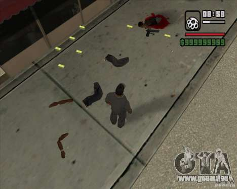 Real Ragdoll Mod Update 2011.09.15 für GTA San Andreas sechsten Screenshot