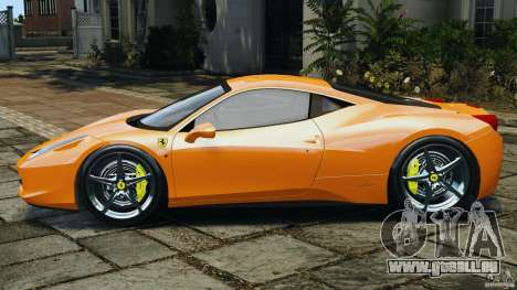 Ferrari 458 Italia 2010 v3.0 pour GTA 4 est une gauche