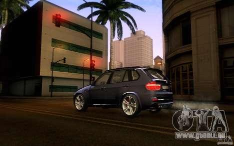 BMW X5M  2011 für GTA San Andreas linke Ansicht