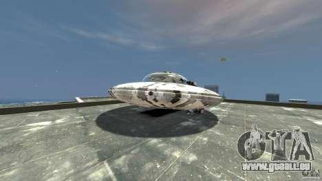 UFO ufo textured pour GTA 4