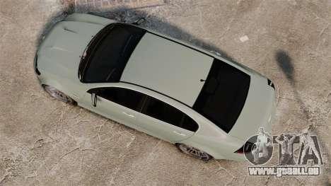 Chevrolet Lumina 2009 Mr. Bolleck Edition für GTA 4 rechte Ansicht
