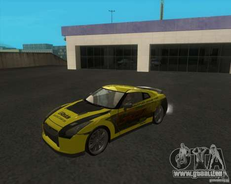 Nissan GTR35 für GTA San Andreas