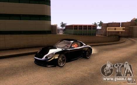 Ruf RK Coupe V1.0 2006 pour GTA San Andreas vue de dessous