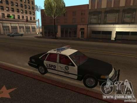 Ford Crown Victoria LSPD für GTA San Andreas linke Ansicht