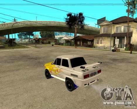 ZAZ 968 m tûningovanyj für GTA San Andreas linke Ansicht