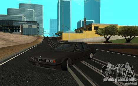 BMW 525 (E34) für GTA San Andreas linke Ansicht