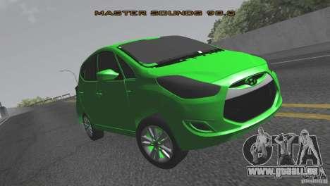 Hyundai ix20 für GTA San Andreas rechten Ansicht