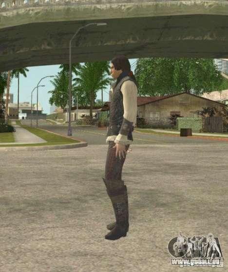 Assassins skins pour GTA San Andreas troisième écran