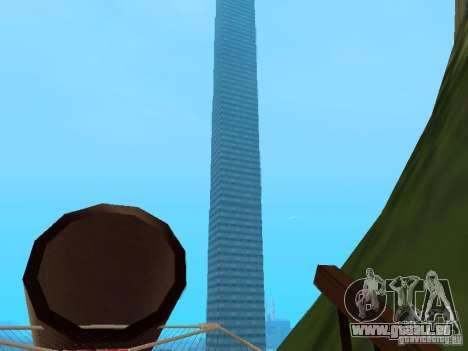 Insel (Monat auf dem Wasser) für GTA San Andreas dritten Screenshot