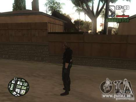 Wesker de RE5 pour GTA San Andreas sixième écran