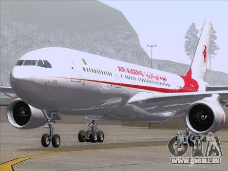 Airbus A330-203 Air Algerie pour GTA San Andreas vue intérieure