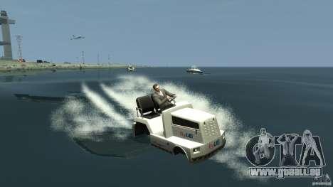 Airtug boat für GTA 4 linke Ansicht