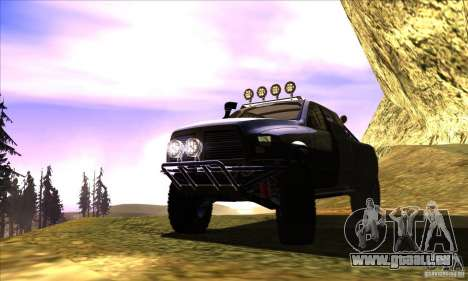 Dodge Ram All Terrain Carryer für GTA San Andreas Innenansicht