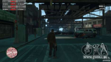First Person Shooter Mod pour GTA 4 dixièmes d'écran