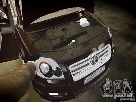 Toyota Avensis pour GTA 4 Salon