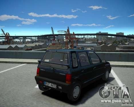 Daewoo Tico SX 1996 pour GTA 4 est une gauche