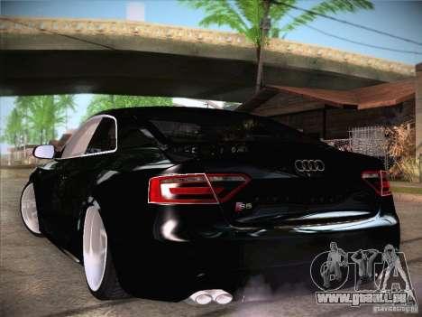 Audi RS5 pour GTA San Andreas vue de droite