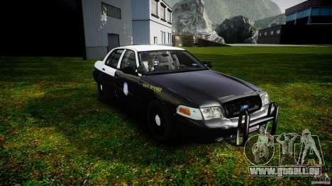Ford Crown Victoria 2003 Florida CVPI [ELS] pour GTA 4 Vue arrière