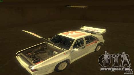 Citroen BX 4TC pour GTA San Andreas vue arrière
