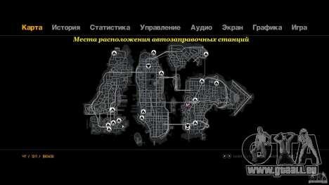 Remplissage pour GTA 4 troisième écran