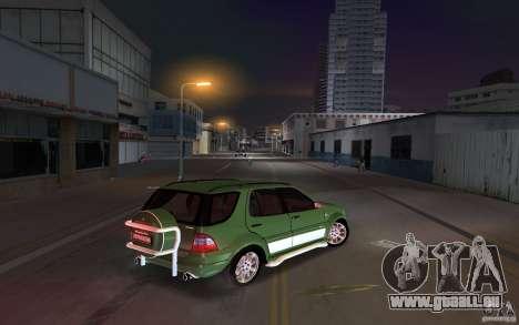 Mercedes-Benz ML55 Demec pour une vue GTA Vice City de la droite