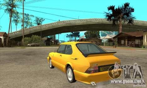Saab 900 Turbo 1989 v.1.2 pour GTA San Andreas vue de droite