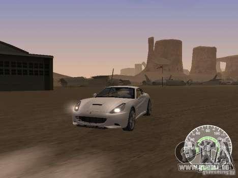 Ferrari California v1 für GTA San Andreas