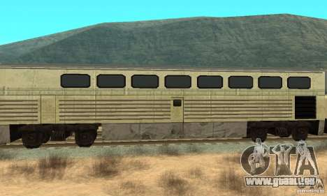 New Streak Skin pour GTA San Andreas sur la vue arrière gauche