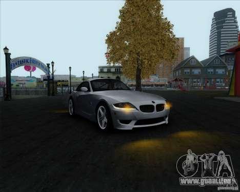 BMW Z4M pour GTA San Andreas vue de droite