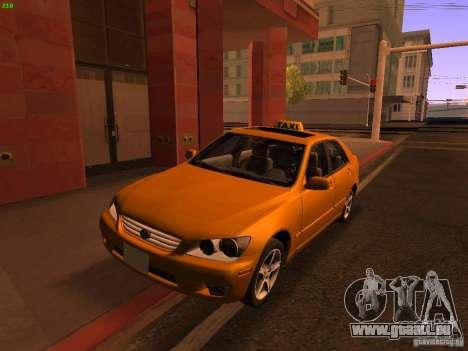 Lexus IS300 Taxi pour GTA San Andreas