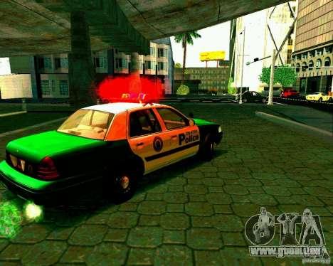 Ford Crown Victoria 2003 Police Interceptor VCPD pour GTA San Andreas vue de droite