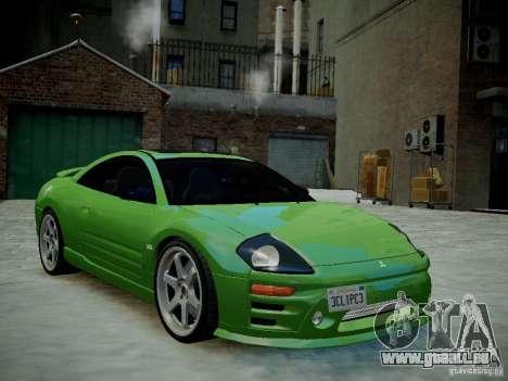 Mitsubishi Eclipse GT-S v1.0 pour GTA 4 Vue arrière de la gauche