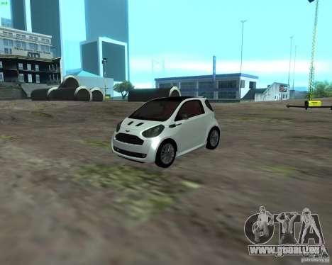 Aston Martin Cygnet für GTA San Andreas