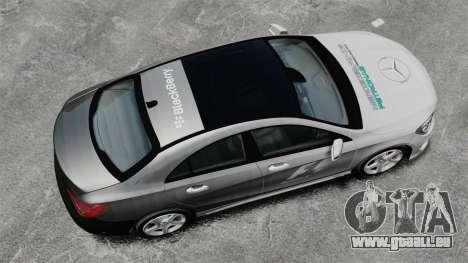 Mercedes-Benz CLA 250 2014 pour GTA 4 est un droit