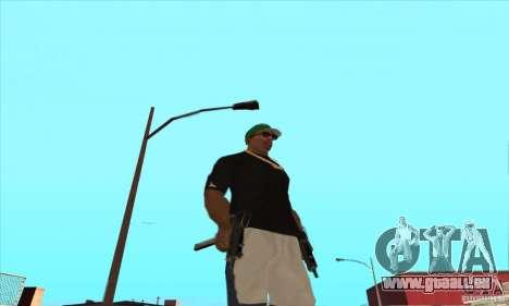 WEAPON BY SWORD pour GTA San Andreas douzième écran