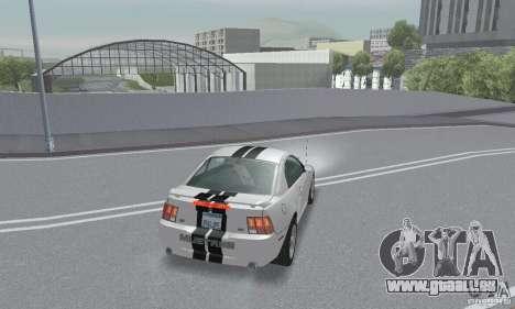 Ford Mustang GT 2003 pour GTA San Andreas vue de dessous