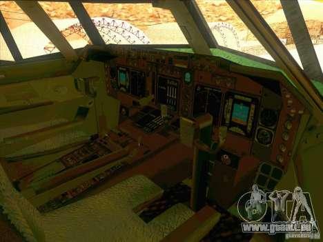 Boeing E-767 pour GTA San Andreas vue de dessus