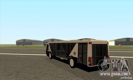 Neoplan Airport bus SA für GTA San Andreas zurück linke Ansicht