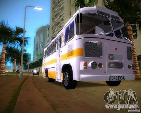 Paz-672 pour une vue GTA Vice City de la gauche
