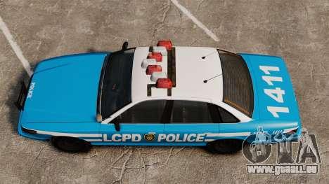 Vapid Police Cruiser ELS pour GTA 4 est un droit