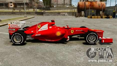 Ferrari F2012 für GTA 4 linke Ansicht
