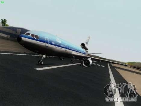 McDonell Douglas DC-10-30 KLM Royal Dutch pour GTA San Andreas