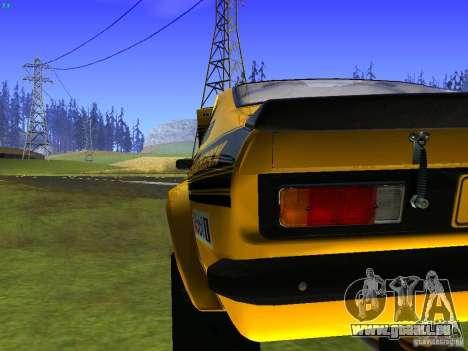 Opel Kadett pour GTA San Andreas vue de dessus